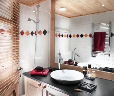 Vacances en montagne La Ferme du Val Claret - Tignes - Salle de bains