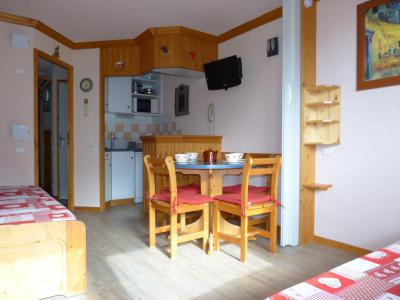 Holiday in mountain resort Studio 4 people (A2M38) - La Résidence Aime 2000 Chamois - La Plagne - Table