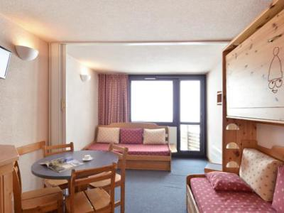 Holiday in mountain resort Studio 4 people (A2M40) - La Résidence Aime 2000 Chamois - La Plagne - Living room