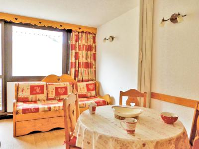 Holiday in mountain resort Divisible studio 4 people (E13) - La Résidence Aime 2000 le Zénith - La Plagne - Living room
