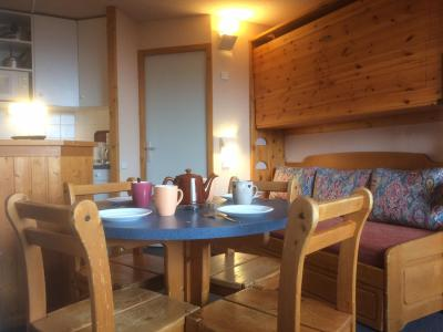 Holiday in mountain resort Studio 4 people (F123) - La Résidence Aime 2000 le Zénith - La Plagne - Living room