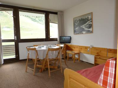 Holiday in mountain resort Studio sleeping corner 4 people (H27) - La Résidence Aime 2000 le Zénith - La Plagne - Living room