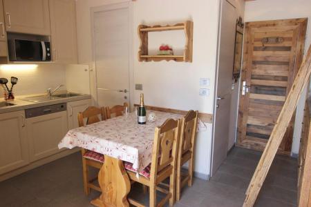 Vacances en montagne Studio cabine 4 personnes (412) - La Résidence Altineige - Val Thorens - Séjour