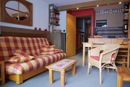Holiday in mountain resort 2 room apartment 5 people (007) - La Résidence Barons - Méribel