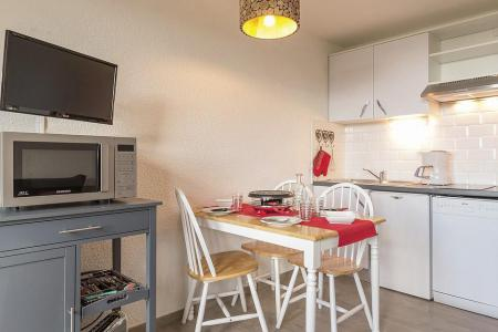 Holiday in mountain resort Studio sleeping corner 4 people (809) - La Résidence Boëdette - Les Menuires - Kitchenette