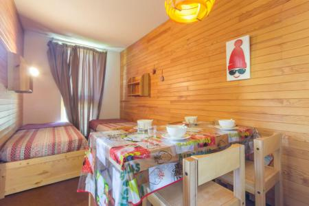 Holiday in mountain resort Studio 4 people (523) - La Résidence des Glaciers - La Plagne
