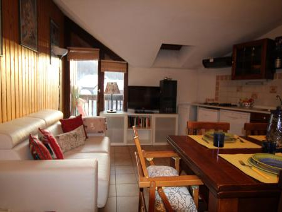 Holiday in mountain resort Logement 2 pièces 4 personnes (MTG110-I302) - La Résidence Ferme d'Augustin - Montgenèvre