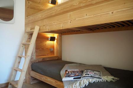 Holiday in mountain resort 4 room duplex apartment 8 people (806) - La Résidence Grande Masse - Les Menuires - Bunk beds