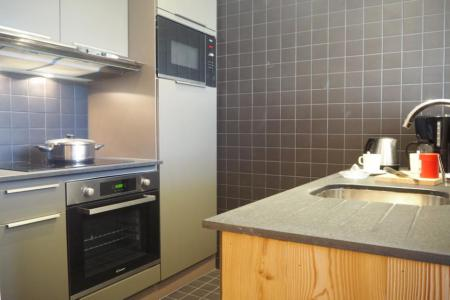 Holiday in mountain resort 4 room duplex apartment 8 people (806) - La Résidence Grande Masse - Les Menuires - Kitchenette