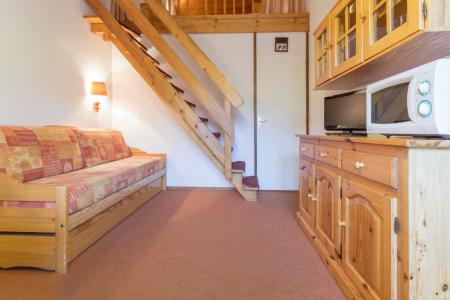 Holiday in mountain resort Studio mezzanine 4 people (406) - La Résidence Hameaux 1 - La Plagne