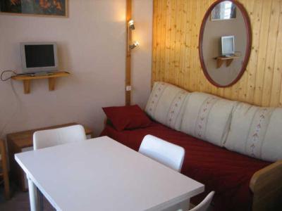 Holiday in mountain resort Studio mezzanine 5 people (406) - La Résidence Hameaux 2 - La Plagne