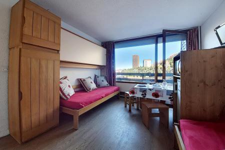 Holiday in mountain resort 2 room apartment 4 people (128) - La Résidence la Chavière - Les Menuires - Living area