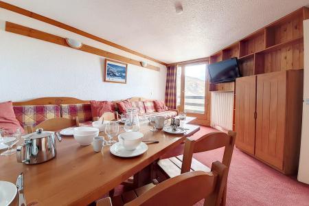 Holiday in mountain resort 2 room apartment 5 people (435) - La Résidence la Chavière - Les Menuires - Bath-tub