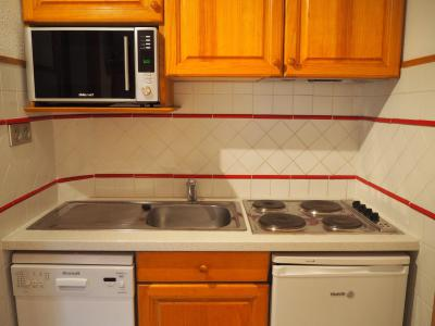 Holiday in mountain resort 2 room apartment 5 people (635) - La Résidence la Chavière - Les Menuires - Electric cooking rings