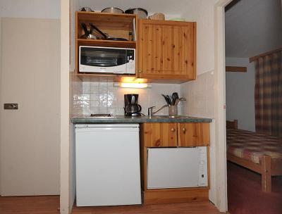 Vacances en montagne Appartement 2 pièces 4 personnes (228) - La Résidence la Chavière - Les Menuires - Logement