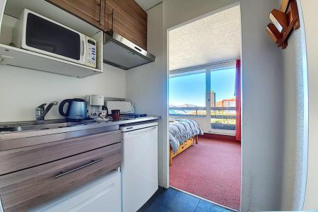 Vacances en montagne Appartement 2 pièces 4 personnes (728) - La Résidence la Chavière - Les Menuires - Balcon