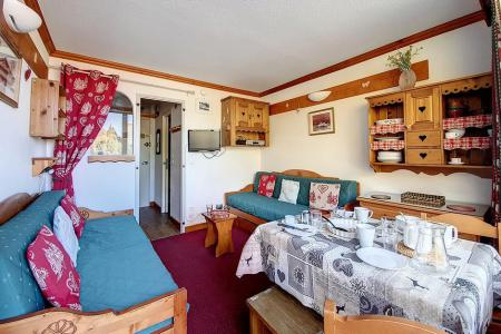 Holiday in mountain resort Studio 3 people (226) - La Résidence la Chavière - Les Menuires - Living room