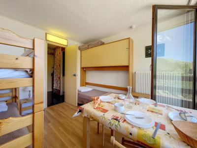 Holiday in mountain resort Studio 3 people (529) - La Résidence la Chavière - Les Menuires - Bath-tub