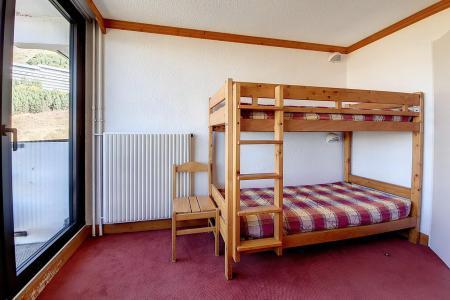 Holiday in mountain resort Studio 3 people (730) - La Résidence la Chavière - Les Menuires - Balcony