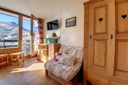 Holiday in mountain resort Studio 3 people (734) - La Résidence la Chavière - Les Menuires - Accommodation