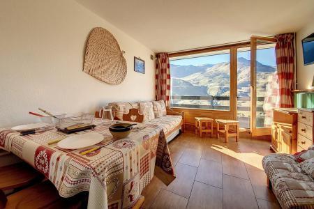 Holiday in mountain resort Studio 3 people (734) - La Résidence la Chavière - Les Menuires - Living room