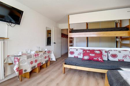 Holiday in mountain resort Studio 4 people (718) - La Résidence la Chavière - Les Menuires - Bunk beds