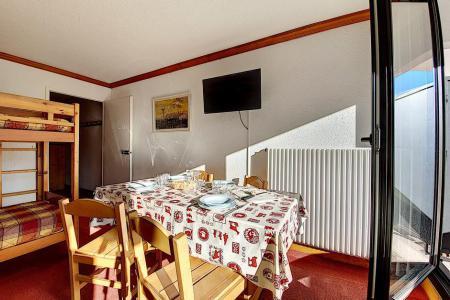 Holiday in mountain resort Studio 4 people (719) - La Résidence la Chavière - Les Menuires - Bunk beds