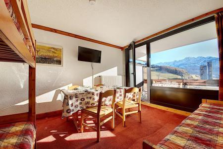 Holiday in mountain resort Studio 4 people (719) - La Résidence la Chavière - Les Menuires - Living room