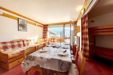 Holiday in mountain resort Studio sleeping corner 5 people (814) - La Résidence la Chavière - Les Menuires - Accommodation