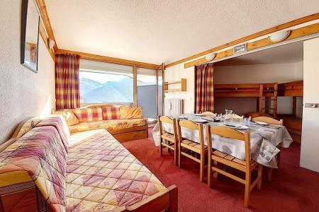 Holiday in mountain resort Studio sleeping corner 5 people (814) - La Résidence la Chavière - Les Menuires - Living room