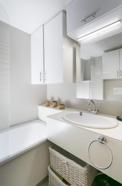 Holiday in mountain resort 2 room apartment 4 people (306) - La Résidence le Grand Arbois - Les Arcs - Bath-tub