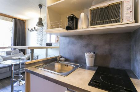 Holiday in mountain resort 2 room apartment 4 people (306) - La Résidence le Grand Arbois - Les Arcs - Kitchenette