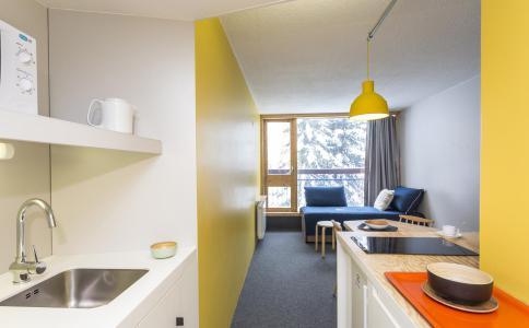 Holiday in mountain resort Studio sleeping corner 4 people (209) - La Résidence le Miravidi - Les Arcs - Kitchenette