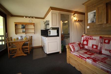 Holiday in mountain resort Studio sleeping corner 4 people (809CL) - La résidence le Palafour - Tignes