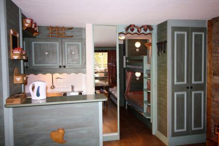 Holiday in mountain resort Studio sleeping corner 4 people (202CL) - La résidence le Palafour - Tignes