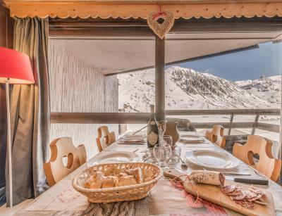 Holiday in mountain resort Studio sleeping corner 4 people (804CL) - La résidence le Palafour - Tignes