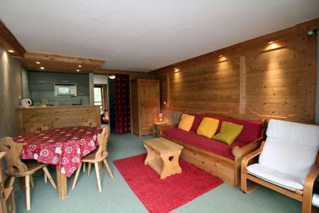 Holiday in mountain resort Studio sleeping corner 4 people (1003CL) - La résidence le Palafour - Tignes - Living room