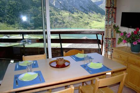 Holiday in mountain resort Studio sleeping corner 4 people (1005CL) - La résidence le Palafour - Tignes - Balcony