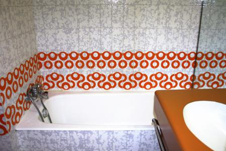 Holiday in mountain resort Studio sleeping corner 4 people (1005CL) - La résidence le Palafour - Tignes - Bath-tub
