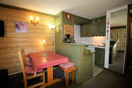 Holiday in mountain resort Studio sleeping corner 4 people (204CL) - La résidence le Palafour - Tignes - Kitchenette