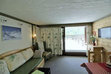 Holiday in mountain resort Studio sleeping corner 4 people (204CL) - La résidence le Palafour - Tignes - Living room