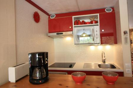 Holiday in mountain resort Studio sleeping corner 4 people (705CL) - La résidence le Palafour - Tignes - Kitchenette