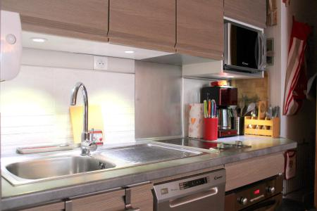Holiday in mountain resort Divisible studio 4 people (ST4) - La Résidence le Serro Torre - La Plagne - Kitchen