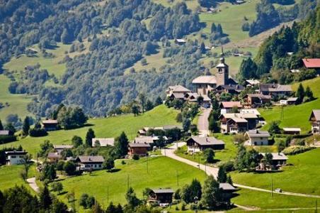 Location au ski La Residence Le Village - Notre Dame de Bellecombe - Extérieur été