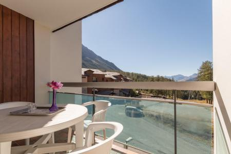Holiday in mountain resort Studio sleeping corner 4 people (ORIO54) - La Résidence les Anges - Montgenèvre