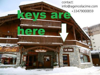 Holiday in mountain resort La Résidence les Cîmes de Caron - Val Thorens