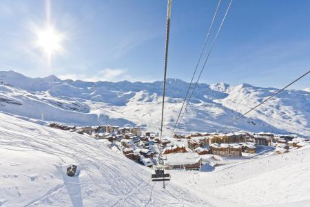 Holiday in mountain resort Studio cabin 4 people (1501) - La Résidence les Cîmes de Caron - Val Thorens