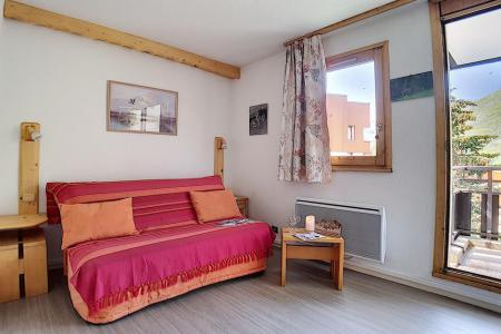 Holiday in mountain resort Studio cabin 4 people (321) - La Résidence les Gentianes - Les Menuires
