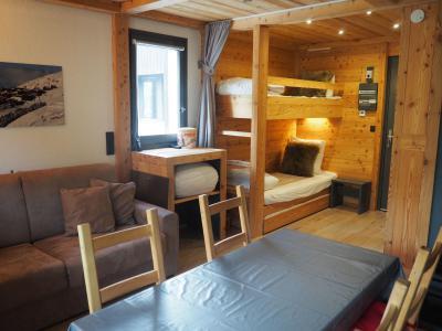 Holiday in mountain resort Studio sleeping corner 4 people (0412) - La Résidence les Gentianes - Les Menuires
