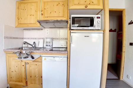 Holiday in mountain resort Studio cabin 4 people (321) - La Résidence les Gentianes - Les Menuires - Bathroom